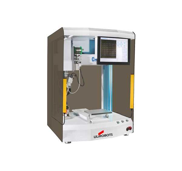 CR310单工位自动焊锡机