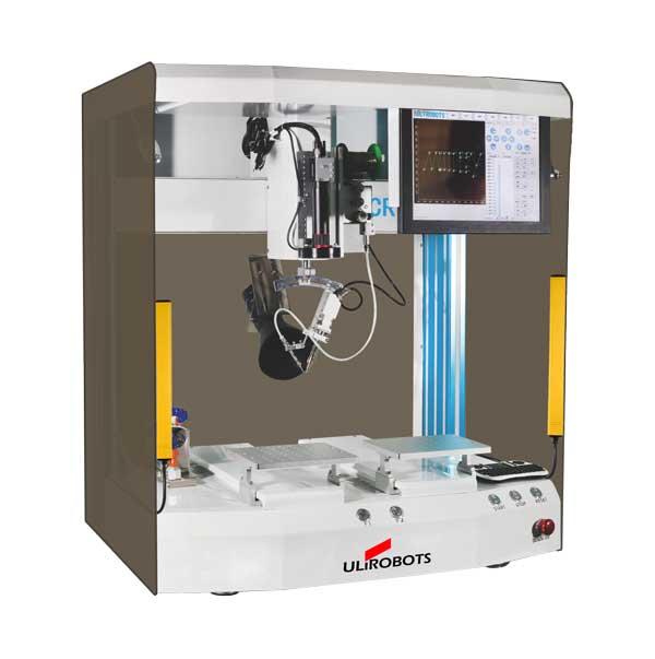 CR520双工位自动焊锡机