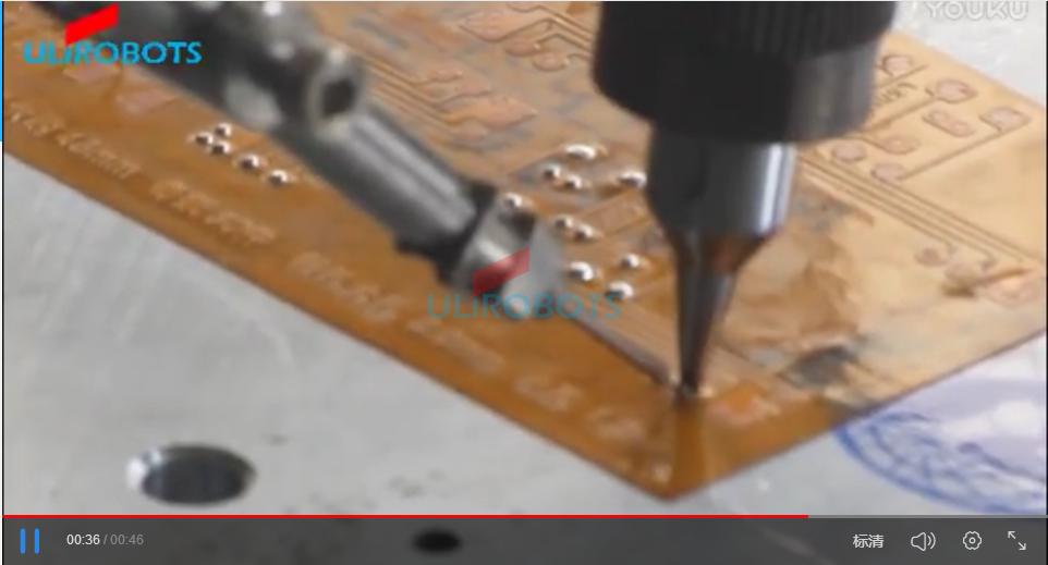 ULIROBOTS由力软板自动焊锡机焊